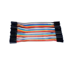 점퍼 케이블 40pcs 10cm F/F  / 40pcs 10cm 1p-1p female to Female jumper wire Dupont cable for Breadboard